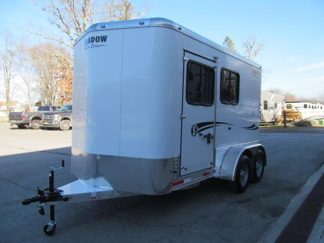 Shadow Trailers Pro Series 2 H Slant BP W/ DR Horse Trailer
