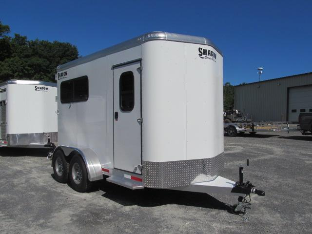 Shadow Trailers Stablemate 2H BP Straight Load Horse Trailer