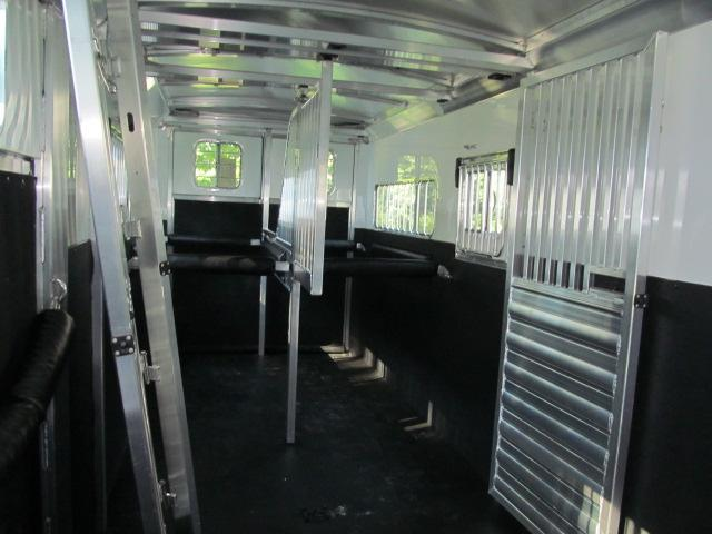 4-Star Trailers Runabout 2 Plus 1 with Extended Box Stall Horse Trailer