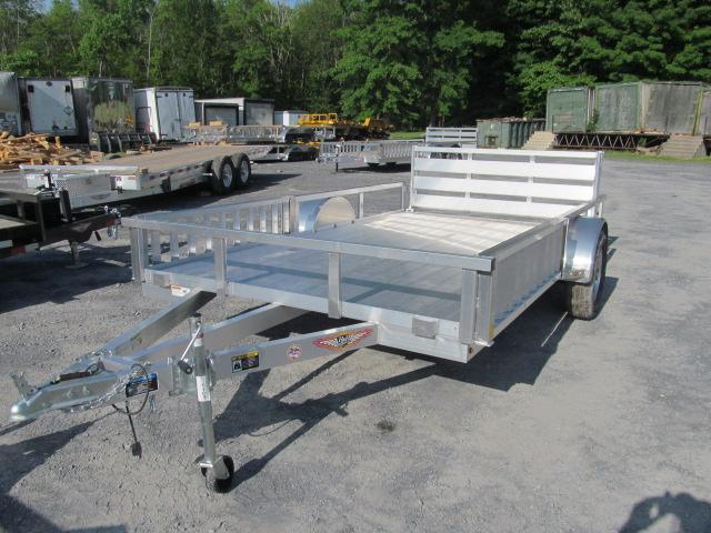H and H Trailer 76 X 10 Aluminum Utility Trailer