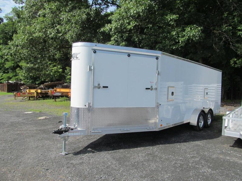 ATC Raven Enclosed In Line Snowmobile Trailer