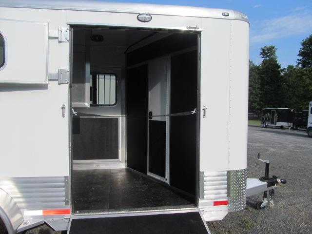 Shadow Trailers Pro Series 2 H BP W/ Side Ramp and Dressing Room Horse Trailer
