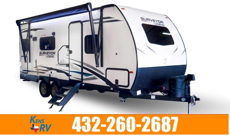 2020 Forest River Surveyor Legend 203RKLE Travel Trailer RV
