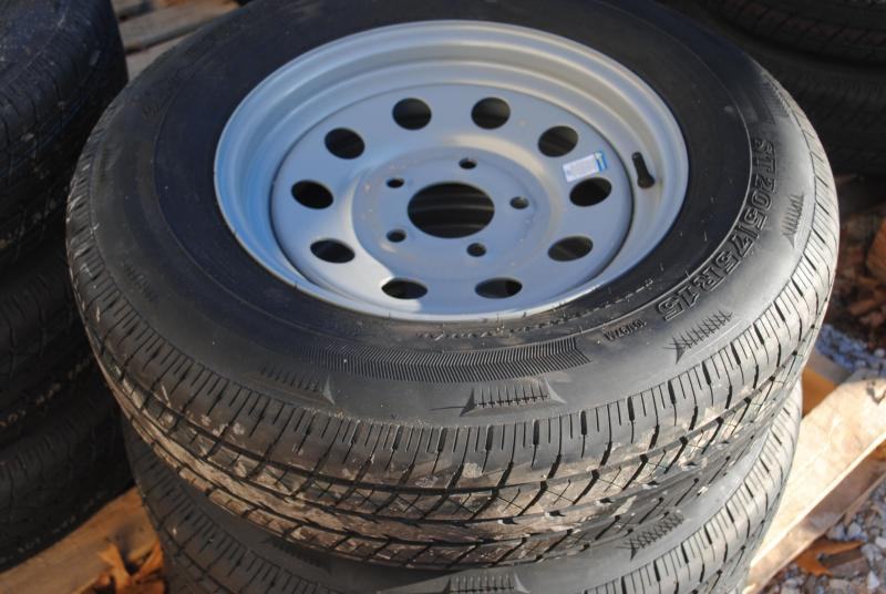 5 ON 5 NEW TRAILER TIRES