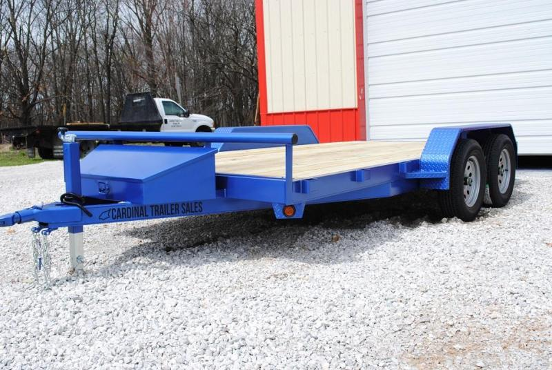 2020 Cardinal Trailer MFG Heavy Duty Flatbed Trailer