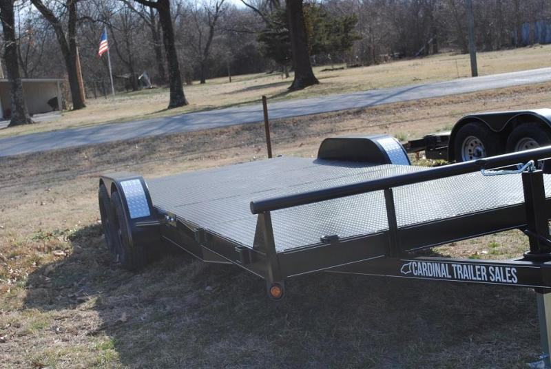 2021 Cardinal Trailer MFG Heavy Duty Flatbed Trailer