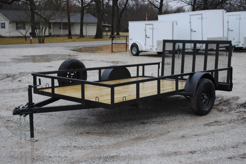 2021 Cardinal Trailer MFG Single Axle Premium Utility Trailer