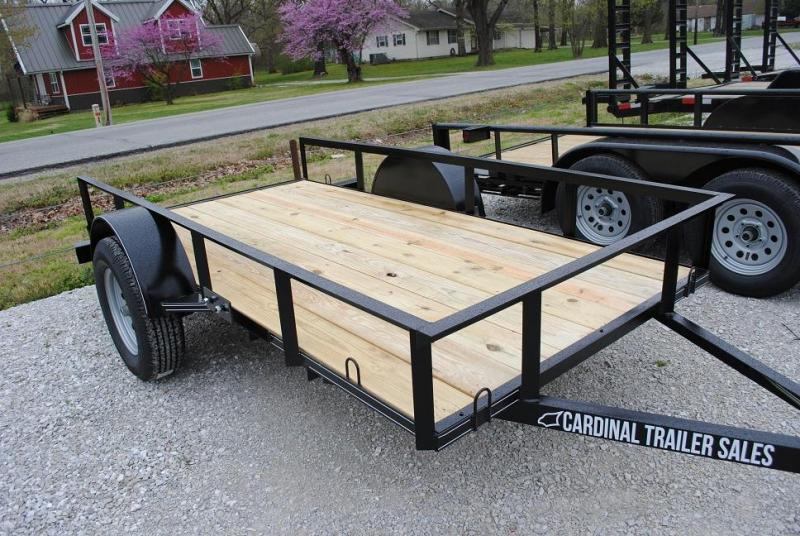2020 Cardinal Trailer MFG Single Axle Utility Trailer