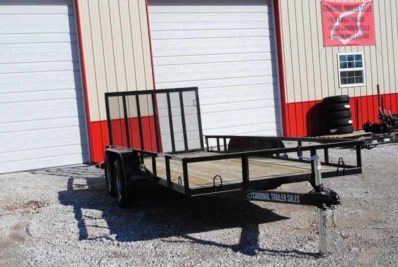"""2020 CTS 76"""" X 16' Utility Trailer"""