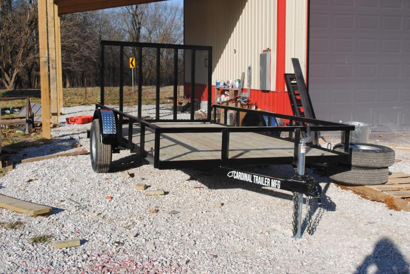 2021 Cardinal Trailer MFG Single Axle Economy Utility Trailer