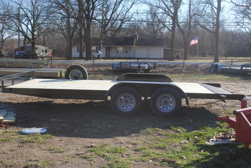 2021 Cardinal Trailer MFG Economy Flatbed Trailer