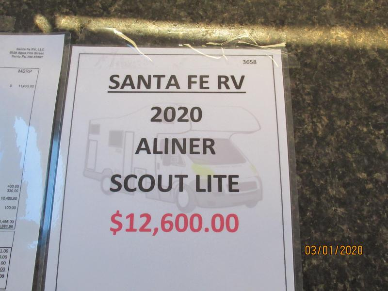 2020 Aliner Scout Lite