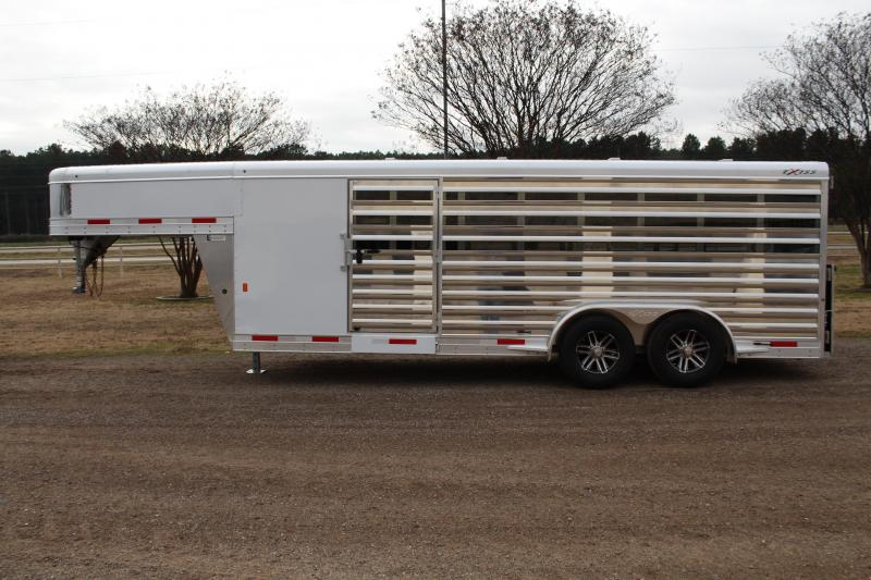 2020 Exiss 20ft Low Pro with 8 Pens and Side Ramp