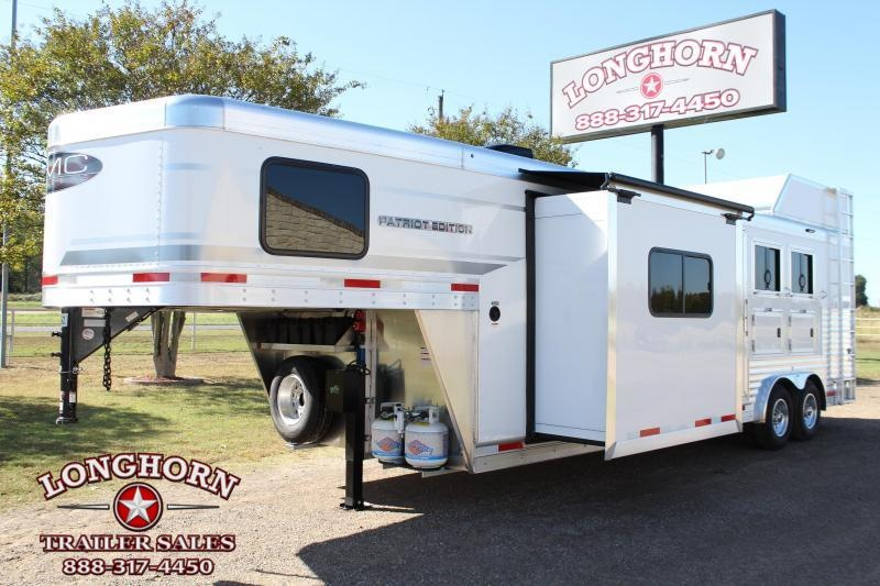 2021 SMC 3 Horse 11ft LQ with Slide Out 8ft Wide