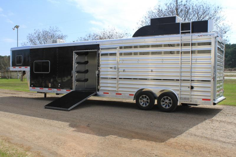 2021 Exiss 8ft LQ and 16ft Stock Area with Generator