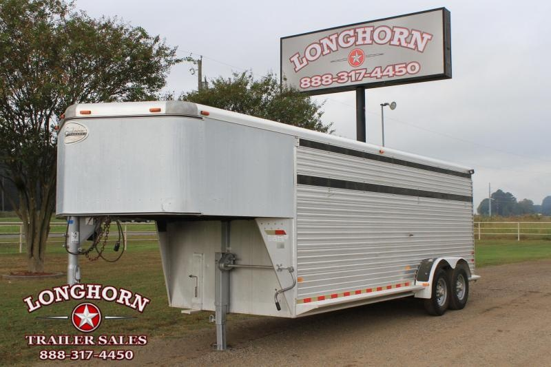 2001 Sundowner Trailers 20' Stock Gn Livestock Trailer