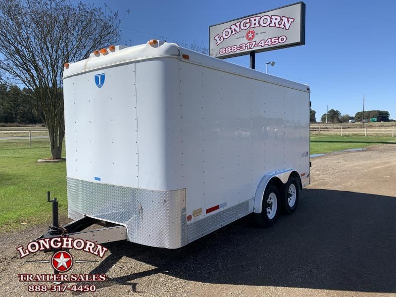 2001 Interstate 1 Trailers 14ft Tandem Axle Cargo Trailer Enclosed Cargo Trailer