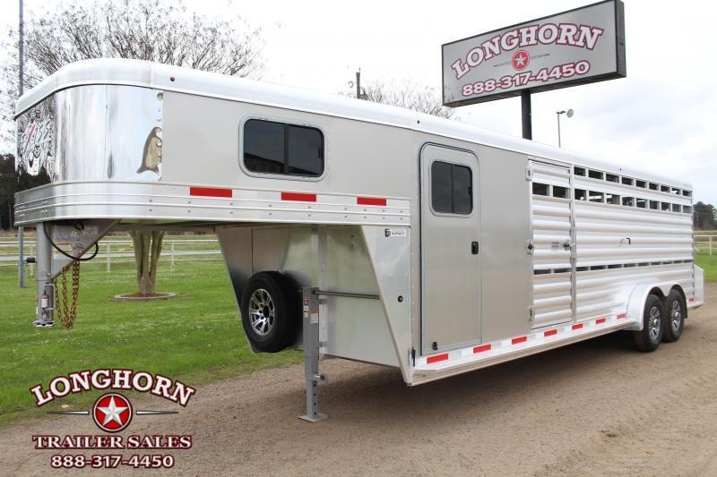2022 Exiss 24ft Show Cattle with Side Ramp Into Tack Room