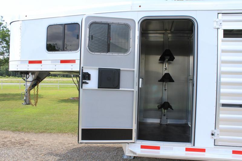 2020 Exiss Trailers 16ft Stock Combo with 4ft Tack Room