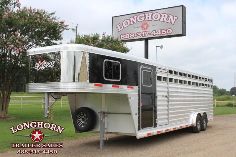 2020 Exiss  6 Horse Combo with Front Tack Room Horse Trailer