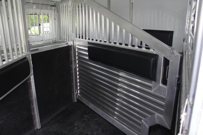 2020 Elite 3 Horse 15ft Resistol LQ with Slide Side Load