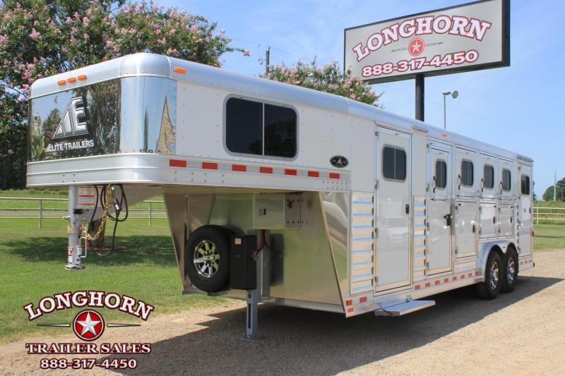2021 Elite 4 Horse Double Door Side Tack