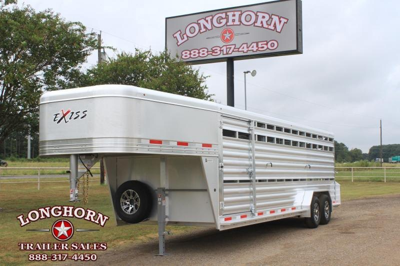 2021 Exiss  24ft Stock Trailer HD Model Livestock Trailer