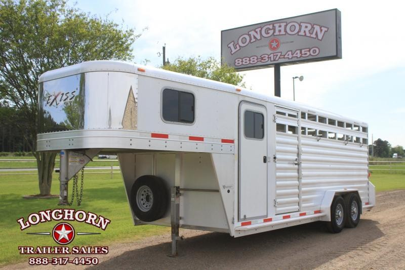 2013 Exiss 20ft Stock Combo with 4ft Tack Room
