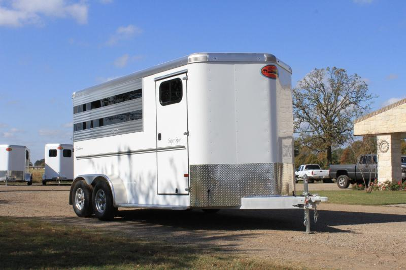 2021 Sundowner Trailers 3 Horse Bumper Pull with Front Tack Room Horse Trailer