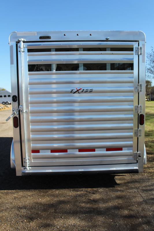 2021 Exiss 2 Horse Bumper Pull with Front Tack Room Horse Trailer