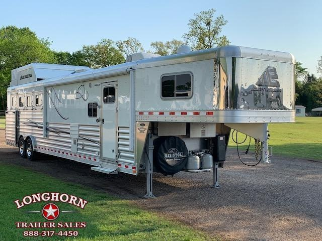 2018 Elite Trailers 4 Horse 15ft LQ Side Load Slide Out Horse Trailer