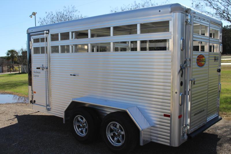 2021 Sundowner Trailers 16ft Stock Trailer Livestock Trailer
