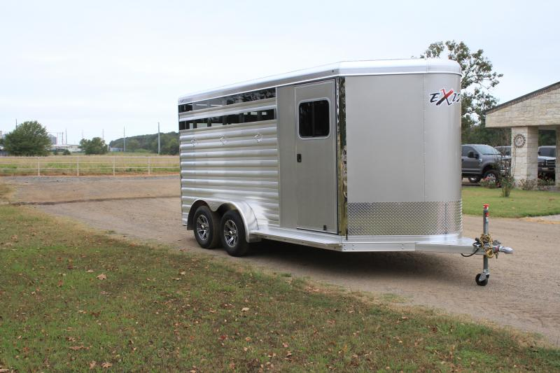2022 Exiss 3 Horse Bumper Pull Horse Trailer