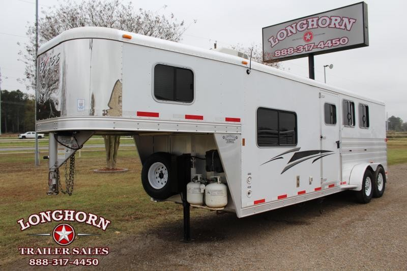 2013 Exiss Trailers 3 Horse 8ft Living Quarter Coming Soon Horse Trailer
