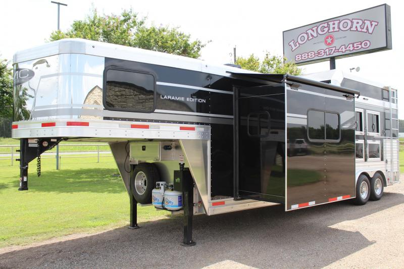 2021 SMC 3 Horse 11ft LQ  with Slide Out and Generator