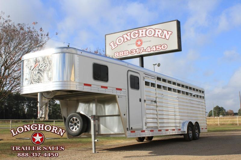2021 Exiss  6 Horse Combo with Front Tack Room Horse Trailer