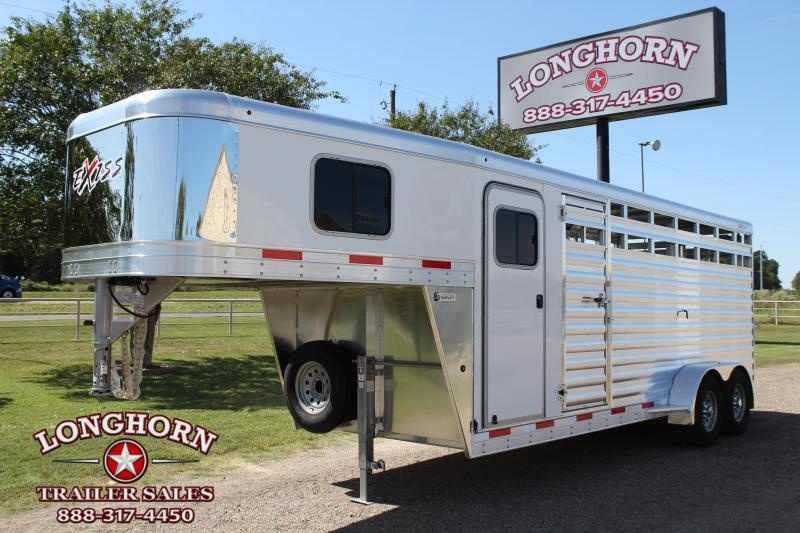 2021 Exiss 20ft Stock Combo with 4ft Tack Room