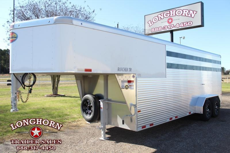 2021 Sundowner Trailers 20ft Stock Combo with 4ft Tack Room Livestock Trailer