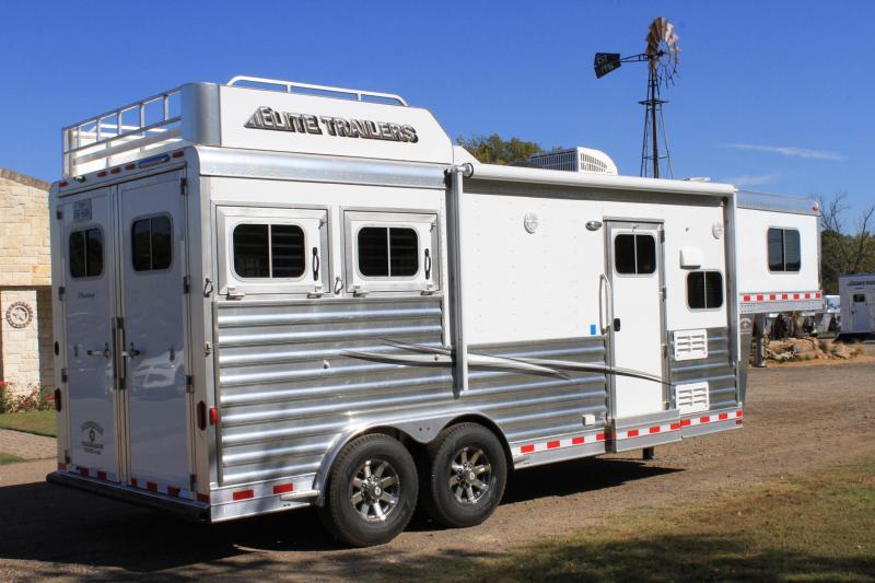 2022 Elite 2 Horse 8.8ft LQ Mangers
