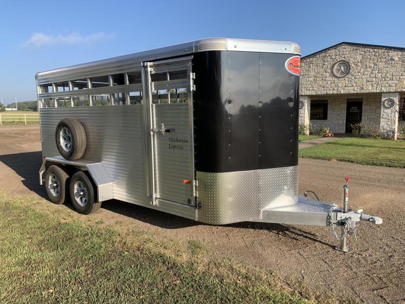 2022 Sundowner Trailers 16ft Stockman Express Livestock Trailer