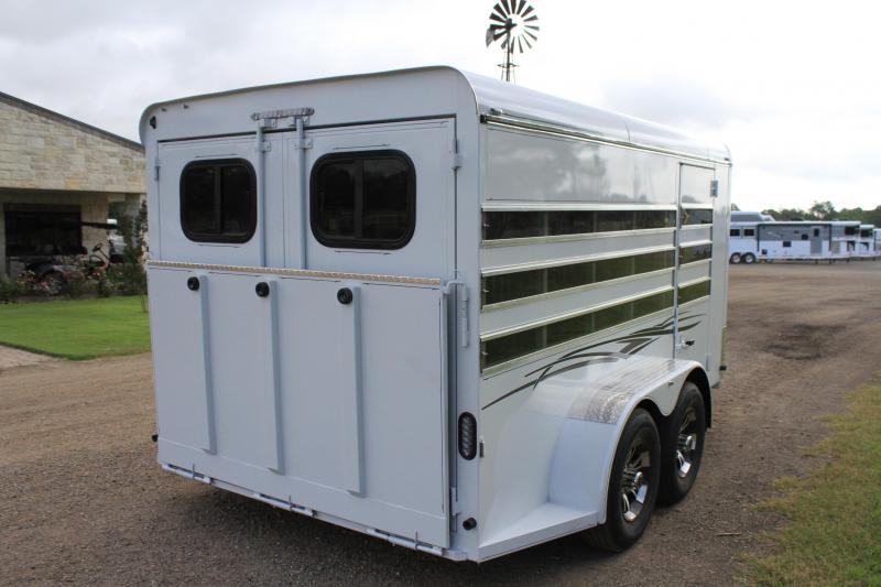 2021 Jackson Horse Trailers Low Pro 6 Pen with Front Tack Room Livestock Trailer