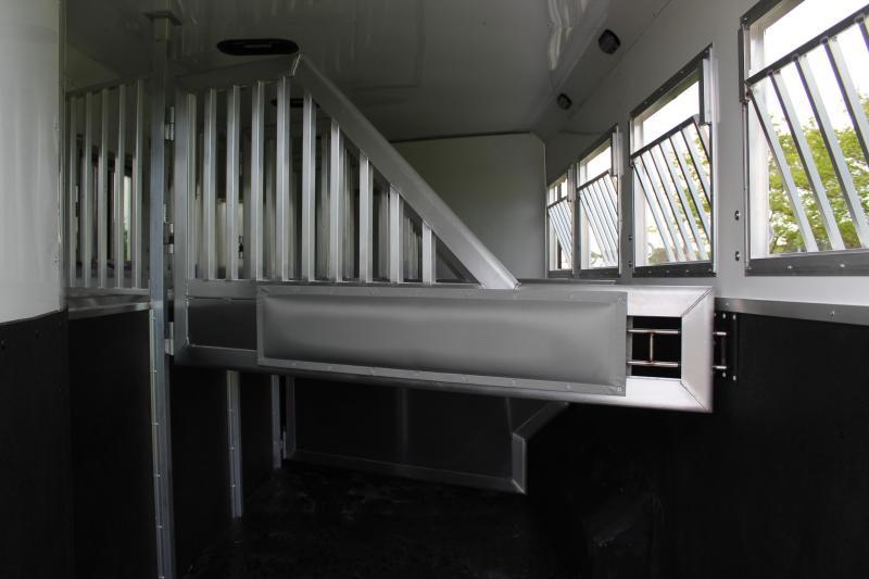 2021 SMC 4 Horse 11ft Living Quarter with Slide Out