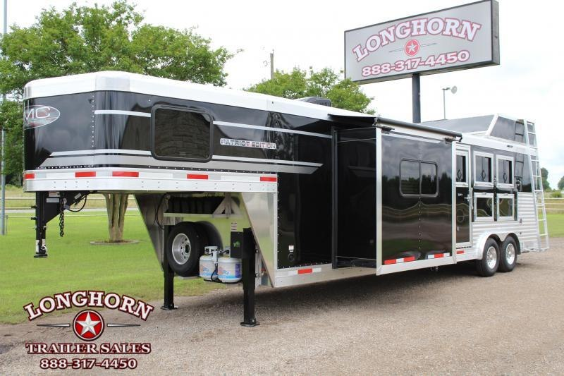 2021 SMC 3 Horse 13ft LQ with Slide and Generator
