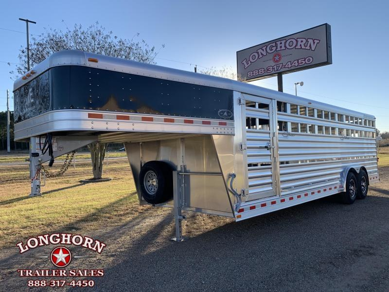 2021 Elite Trailers 24ft x 8ft Show Cattle Stock Trailer Livestock Trailer