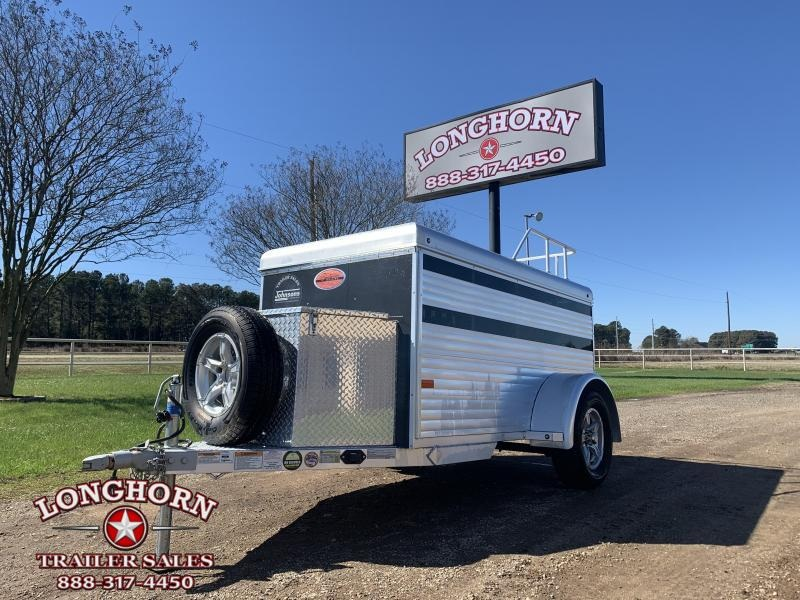 2020 Sundowner Mini Stock Low Profile All Aluminum Livestock Trailer
