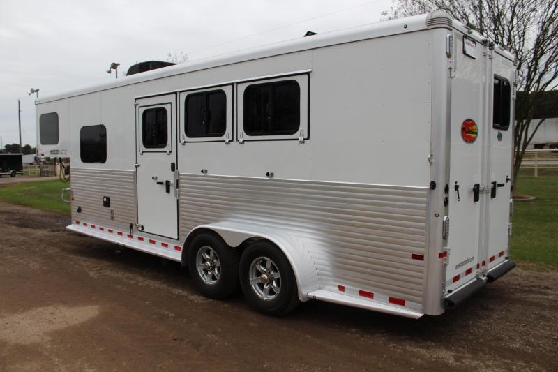2020 Sundowner Trailers 3 Horse 7ft LQ with Side Closet