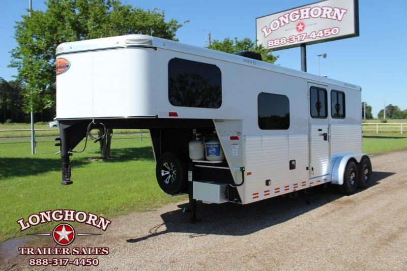 2016 Sundowner Trailers 2 Horse Santa Fe with 6ft LQ Horse Trailer
