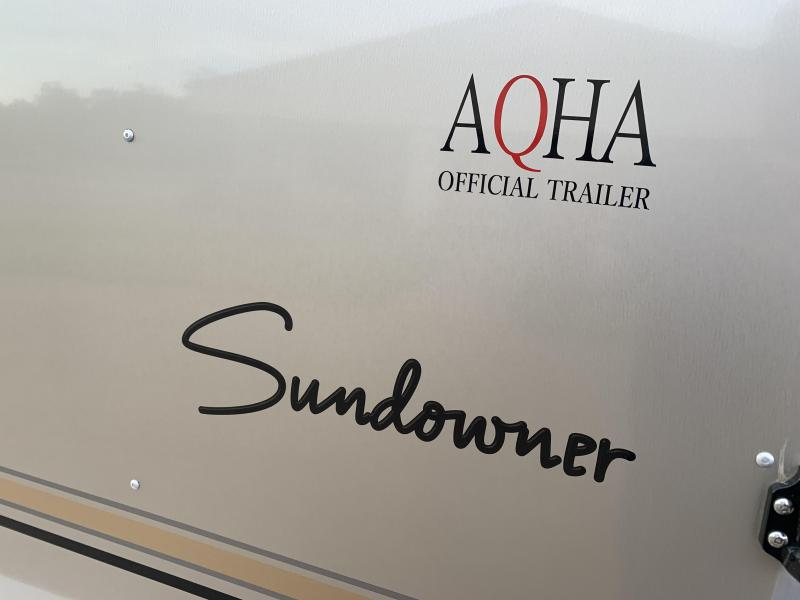 2022 Sundowner Trailers 3 Horse Bumper Pull with Front Tack Room