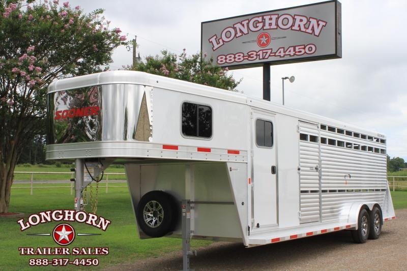 2021 Sooner 24ft Show Cattle Combo with  Side Ramp
