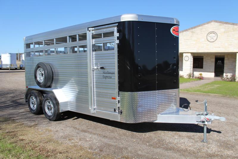2021 Sundowner Trailers 16ft Stock Trailer Livestock Trailer